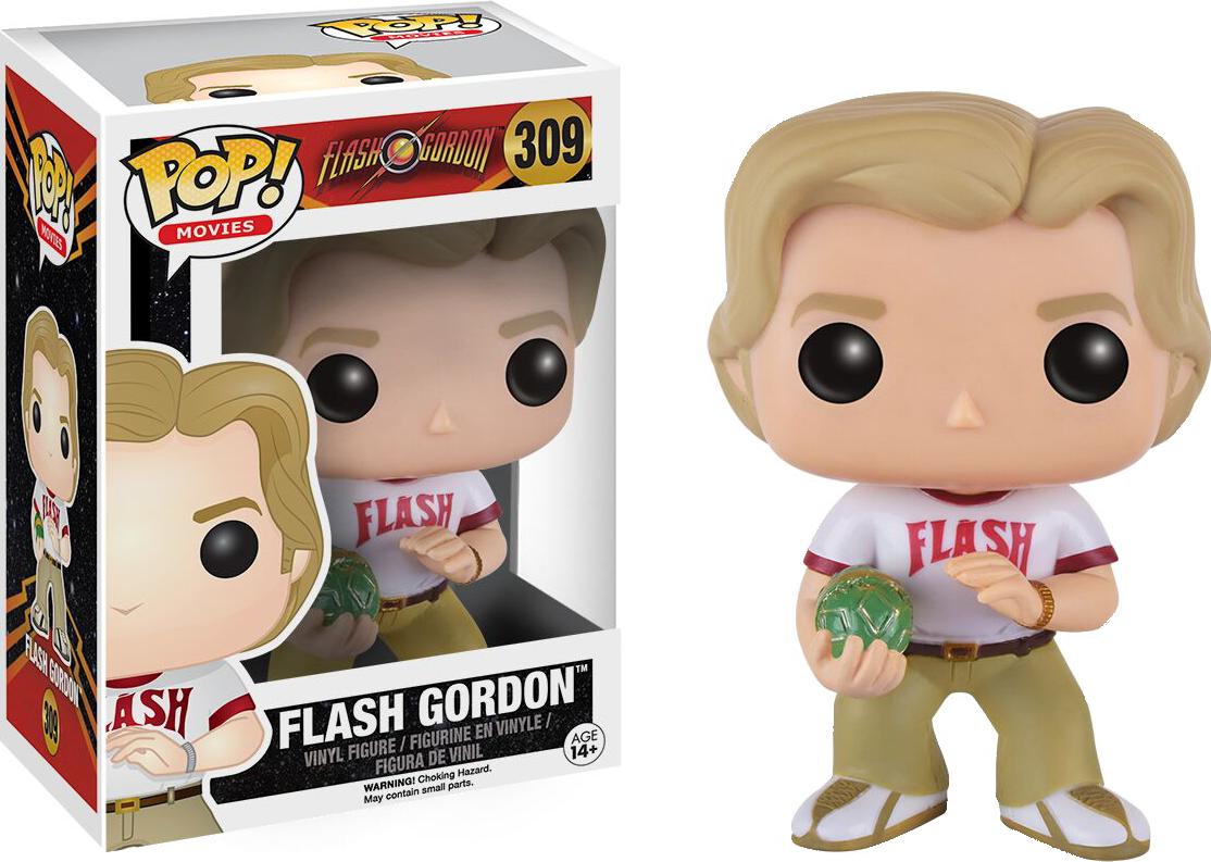 Flash Gordon Funko Pop Vinyl Figure From the 1980 Movie Go Flash Go