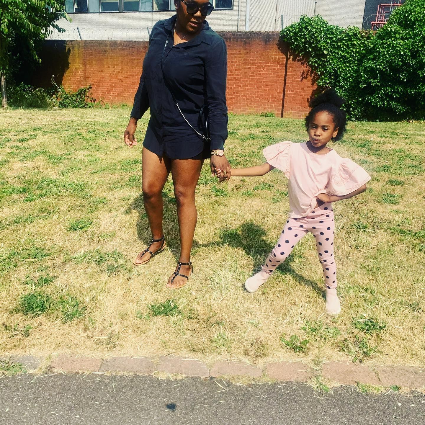 Check out these 2 posers ❤️ The reason I why I try to better myself and go through my own self love/ self worth journey to not repeat the cycle 👸🏾❤️ . . . #selflovejourney #selfloveisthebestlove #selfloveiskey #singlemumlife #londonmum#bestlifeever#selfloveclub #positivevibesalways #positivityiskey #tryingmybest#mummydaughter #mummydaughtertime #ukmum #ukmums #ukmummy #selflovematters#dailyinspirations #inspiredmotherhood#londonmummy#inspiringmum