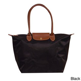 Anywhere Tote  by Donna Bella Designs -  31.49  Knockoff Longchamp Le  Pliage tote on Overstock! aeb641afbdd17