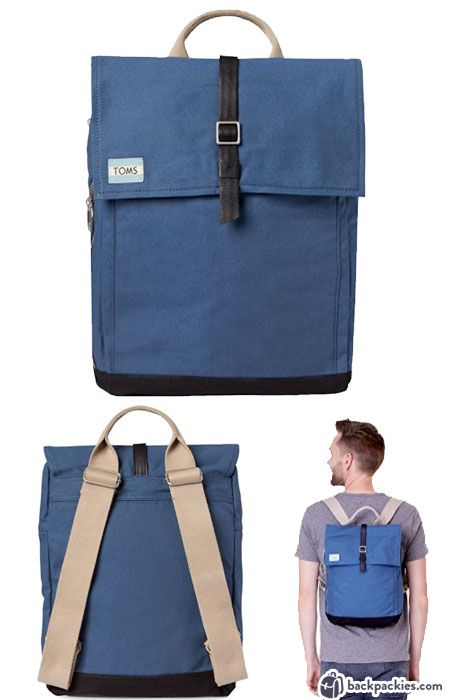 b16620acfa9b TOMS Utility Canvas backpack - bags like Herschel - Learn more at  backpackies.com