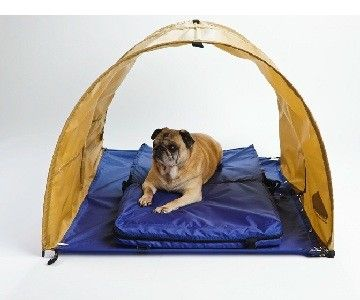 K 9 Koolee Portable Pet Cooling Shelter System A Combination