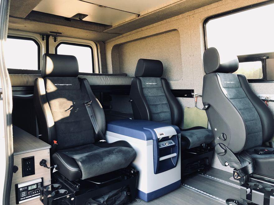 Benchmark Vehicles Ford Transit Van Sprinter Van