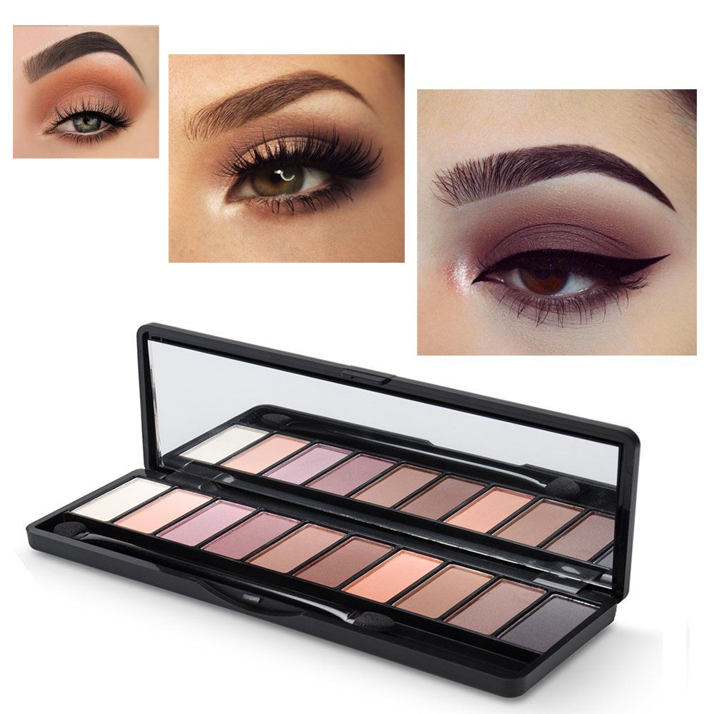 Eyeshadow Palette 7 Matte And 3 Shimmer Shades Highlypigmented