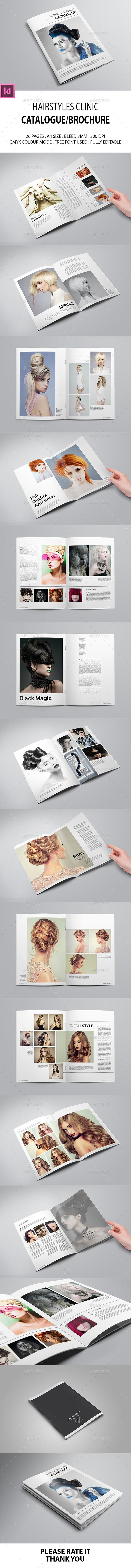 Hairstyles Clinic Catalogue/Brochure