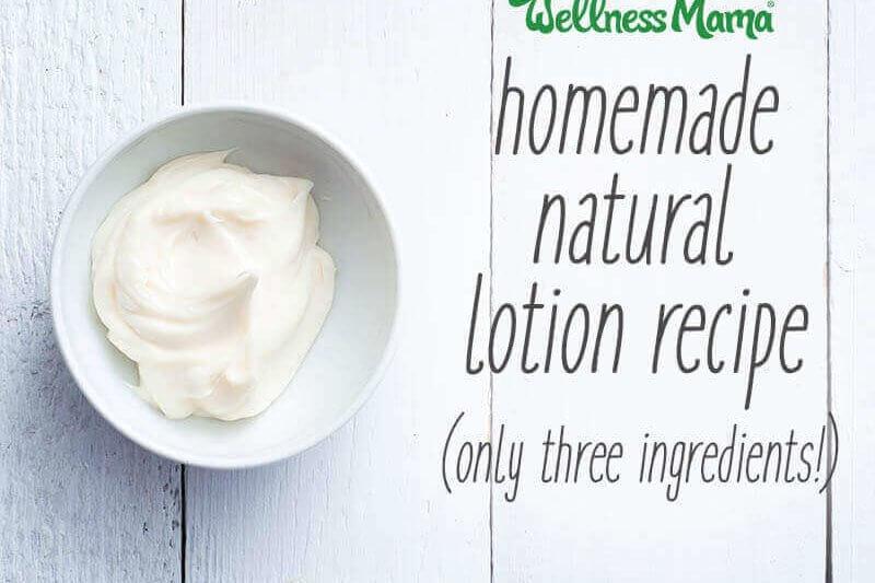 Homemade Lotion Recipe | Wellness Mama