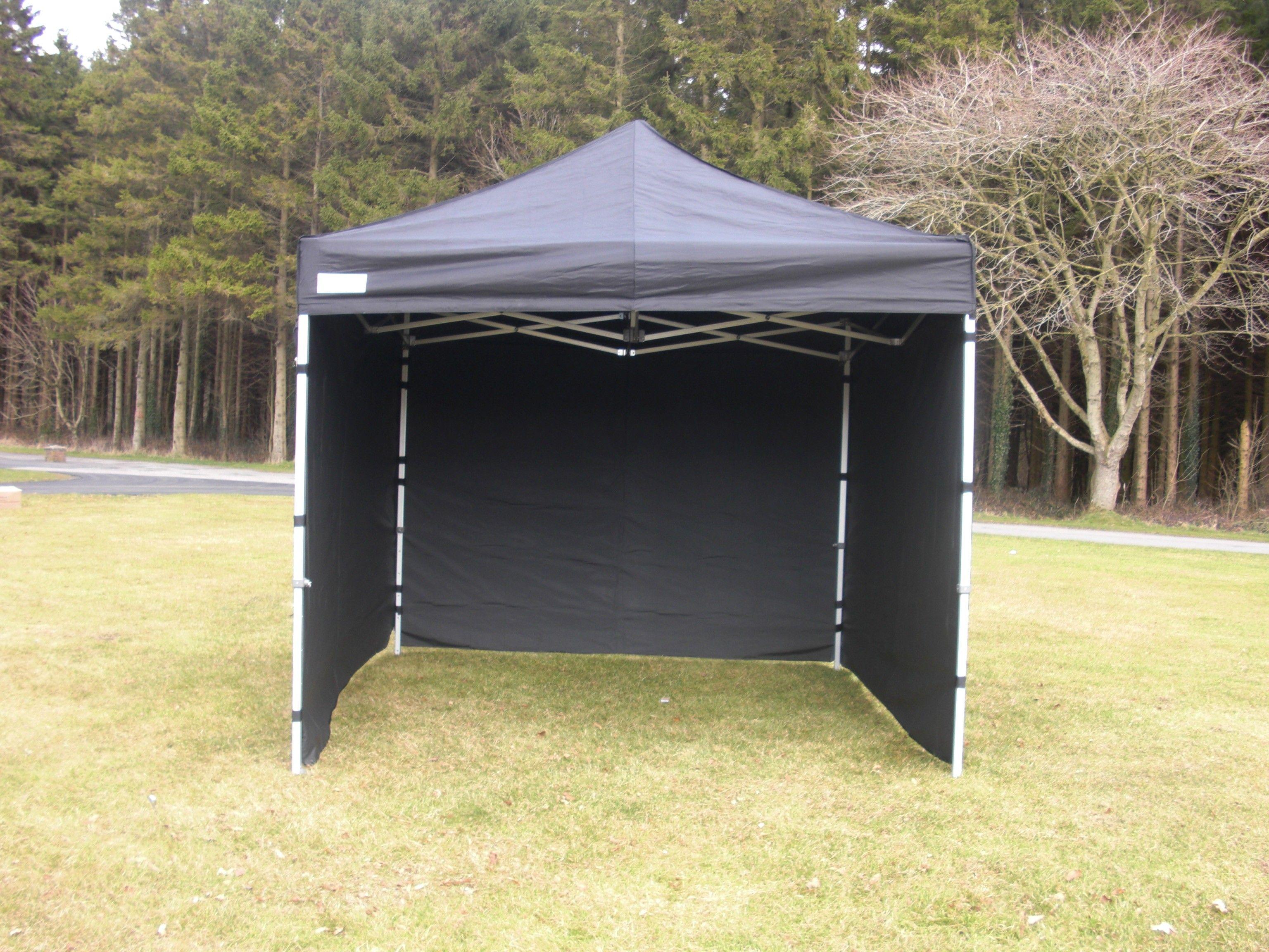 this 3m x 3m heavy duty industrial pop up gazebo black. Black Bedroom Furniture Sets. Home Design Ideas
