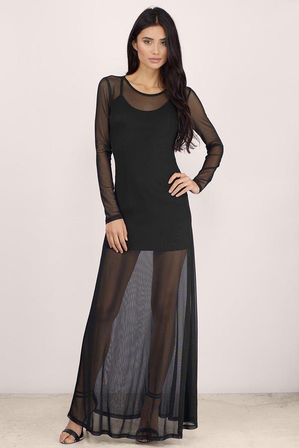 After Midnight Sheer Maxi Dress at Tobi.com  shoptobi  eb9e9bf6b