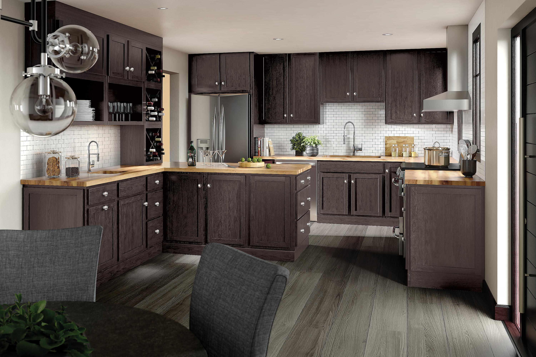 Merillat Classic Marlin Maple In Basalt In 2020 Classic Kitchen Cabinets Kitchen Cabinets Merillat Kitchen Cabinets