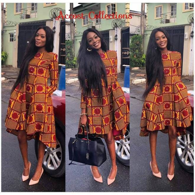 These Are The Collections Of The Best Of All Best Award Winning Ankara Designs From Designers