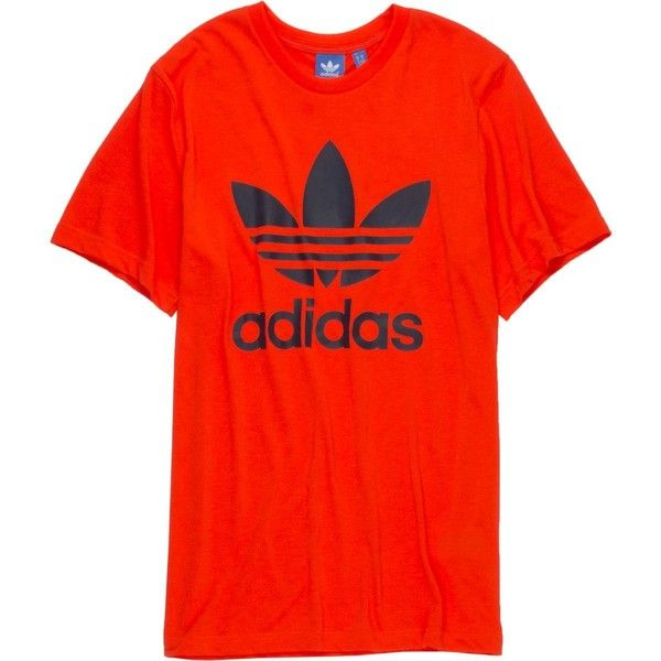 41b64c6a9 adidas Originals Trefoil 2 T-Shirt - Short-Sleeve ($21) ❤ liked on Polyvore  featuring men's fashion, men's clothing, men's shirts, men's t-shirts, mens  t ...