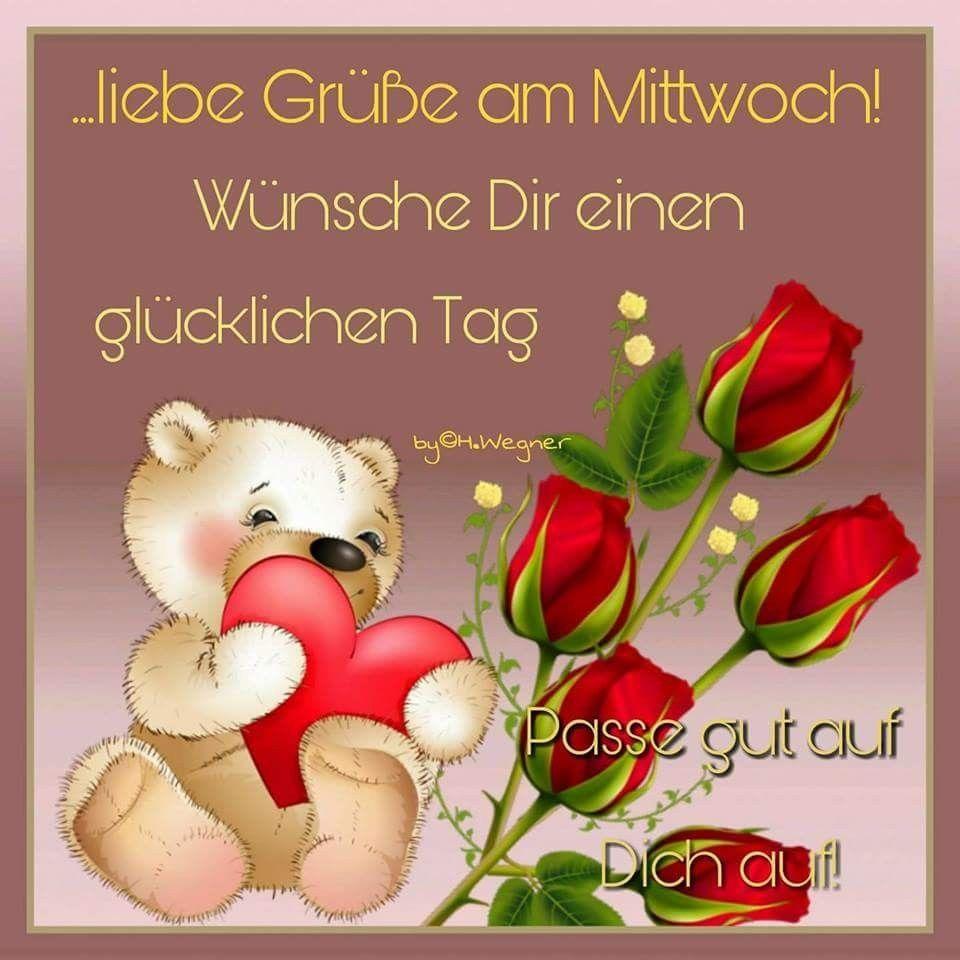 Pin Von Rose Jacobs Auf Rose Mittwochsgrüsse Guten Morgen