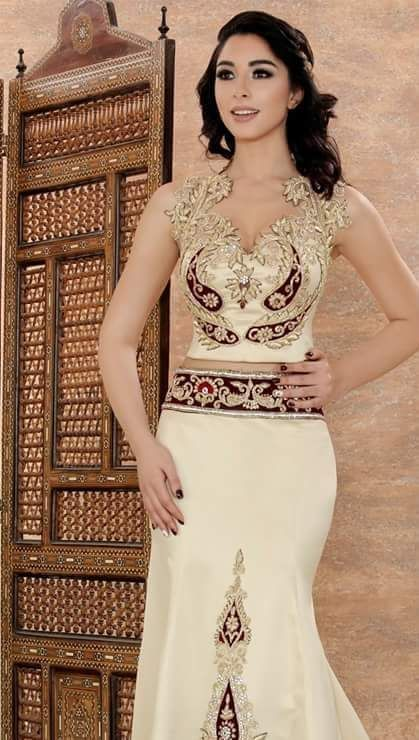 Robe soiree tunisienne