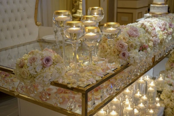 Njwedding Com Welcomes Premier Events By Reema In Little Falls New Jersey Their Team Will Glamorize Your Weddi Rental Decorating Sweetheart Table Event Decor