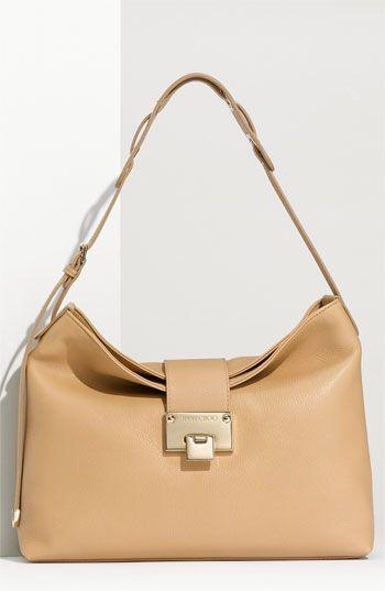 070ae7fadb9 Jimmy Choo  Rachel - Small  Grainy Calfskin Leather Shoulder Bag ...