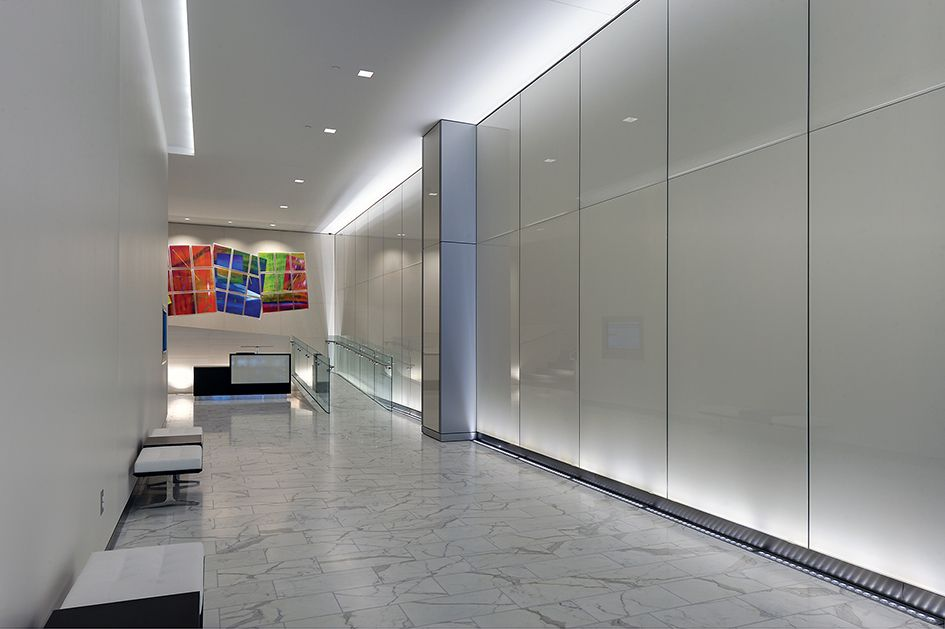 Back painted glass office lobbies google search for Back painted glass panels