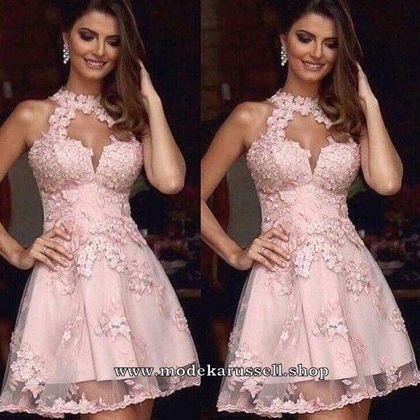 Abendkleid Richhild Kurz in Rosa #abendkleid #abendmode # ...
