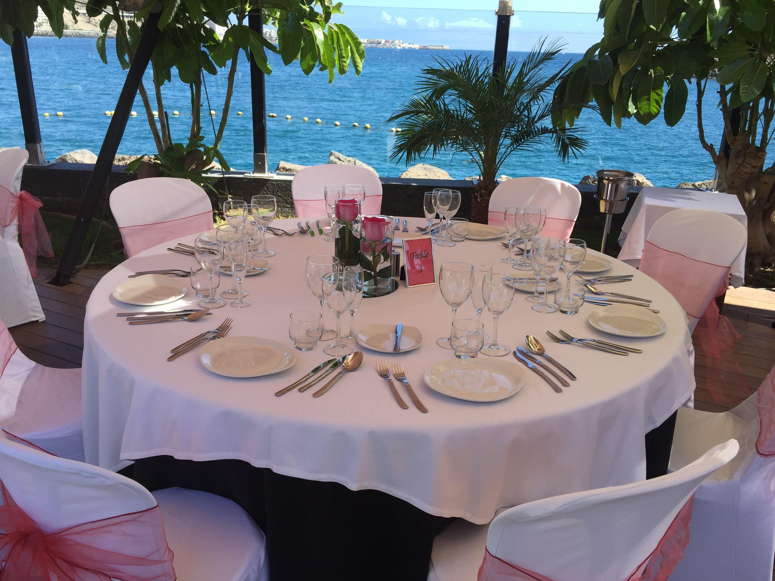 Mesa decorada para boda en Maroa Eventos Pinterest