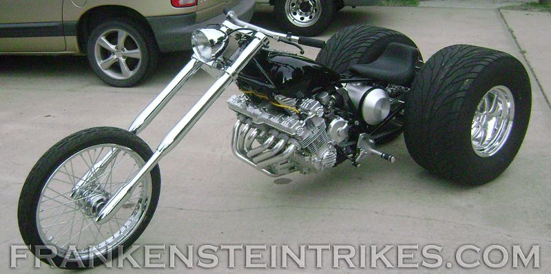 frankenstein trikes frankenstein trike conversion kit custom honda cbx photo trikes. Black Bedroom Furniture Sets. Home Design Ideas