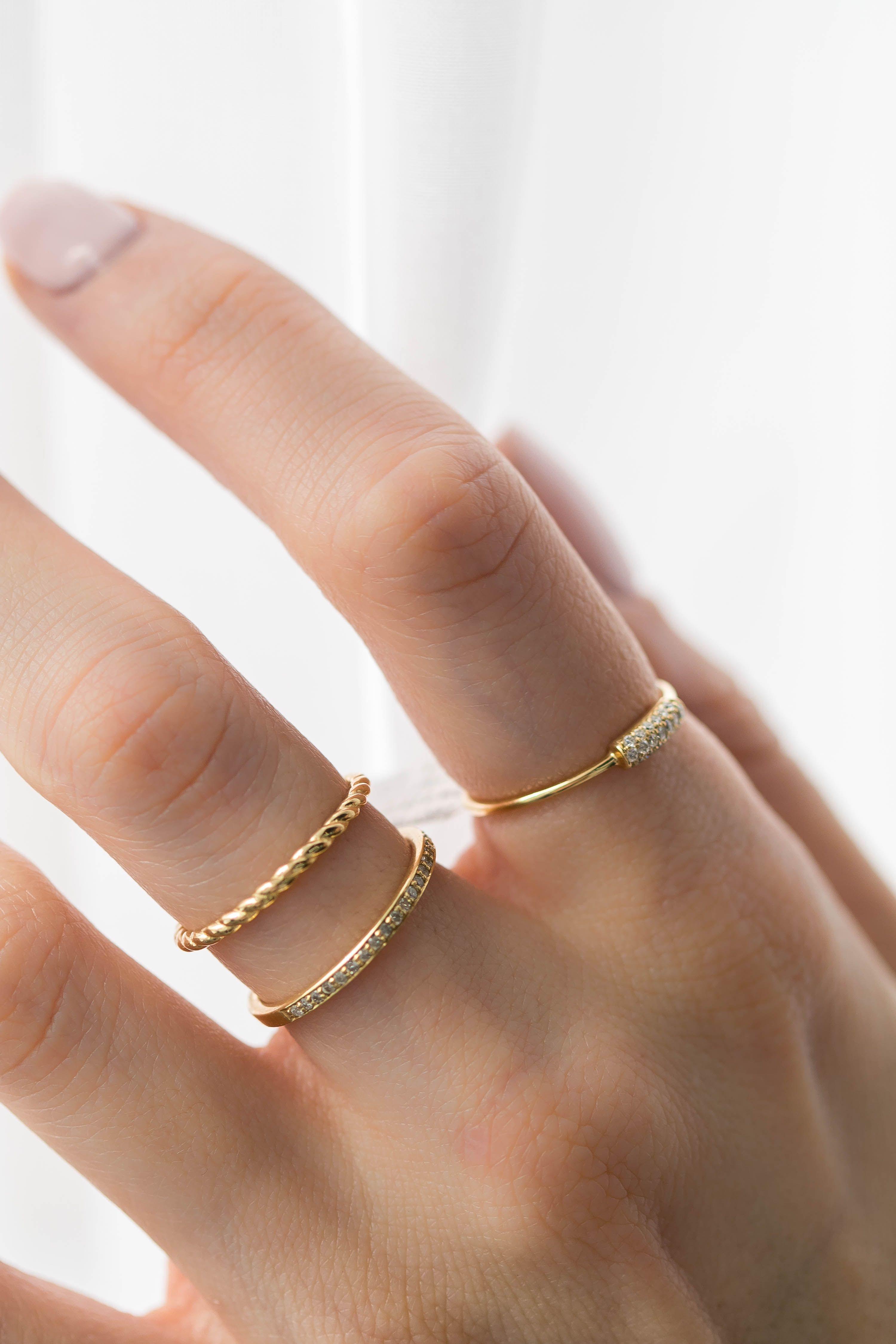 Braided Rope Classic Wedding Band Ring In 14k Yellow Gold Md180604 Rose Gold Black Diamond Rose Gold Diamond Band Amazing Wedding Rings
