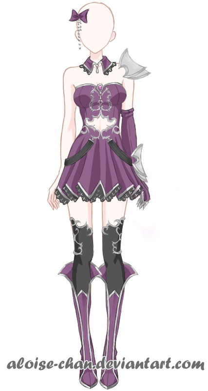 outstanding anime girl witch outfit full