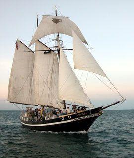 Schooner  Wolf-classic 74' topsail schooner built in 1982-1983