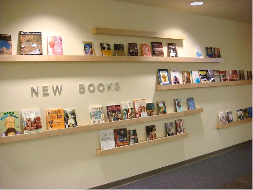 Great Way To Highlight The Covers Of Books School Library Decor Library Decor School Library Design