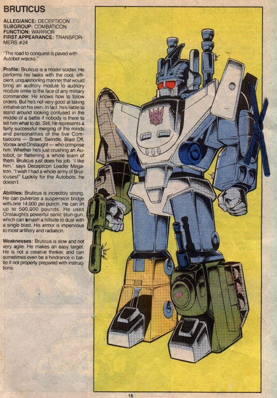 Bruticus Transformers Artwork Transformers Comic Transformers Decepticons