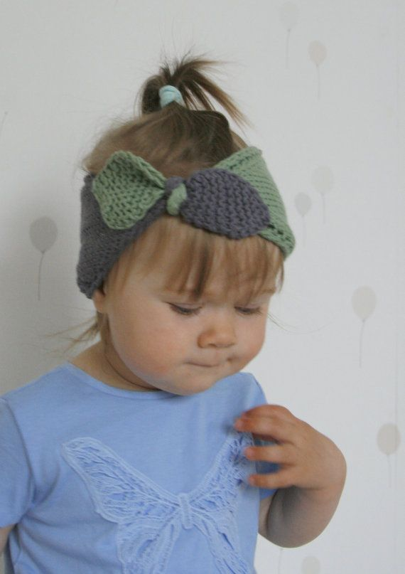 KNITTING PATTERN turban bow headband headwrap Rita by MukiCrafts ...