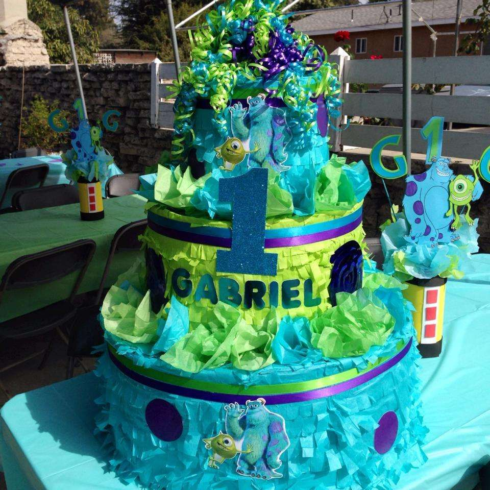 Monsters Inc Birthday Party Ideas Birthday party ideas Birthdays