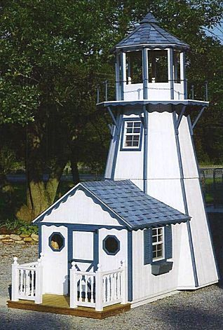 18' Lighthouse with Playhouse