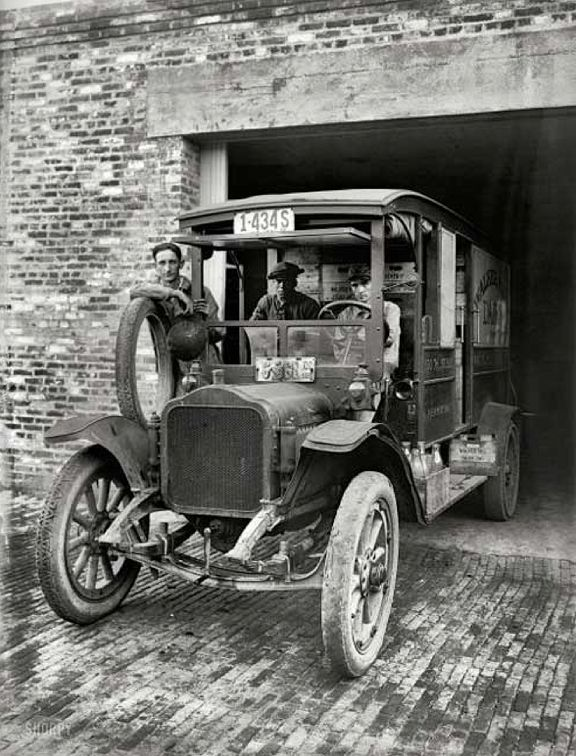 Early Trucks 1800s | United States in the 1800′s and early