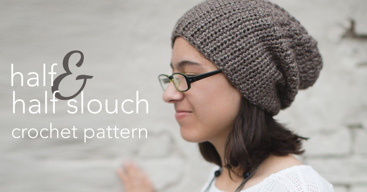 5 Beautiful + Free Slouch Hat Patterns