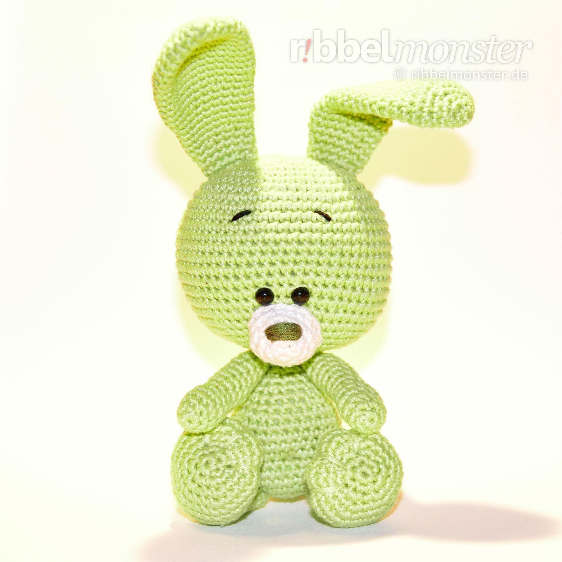 Amigurumi - Crochet Rabbit - Ono - Crochet Pattern - Tutorial ...