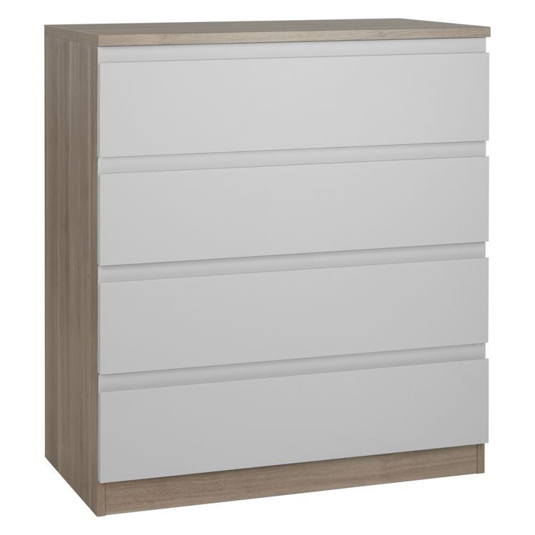 House By John Lewis Mix It Wide 4 Drawer Chest House Smoke Grey Ash House By John Lewis Chest Of Drawers Wide Chest Of Drawers