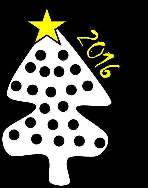 Printable Christmas Tree Vector