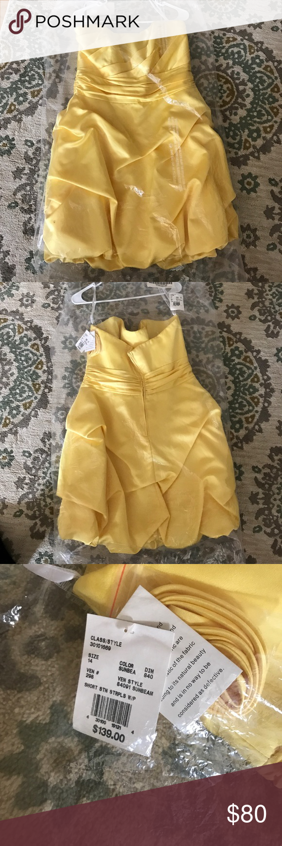 Dress from davids bridal nwt shorts customer support and delivery