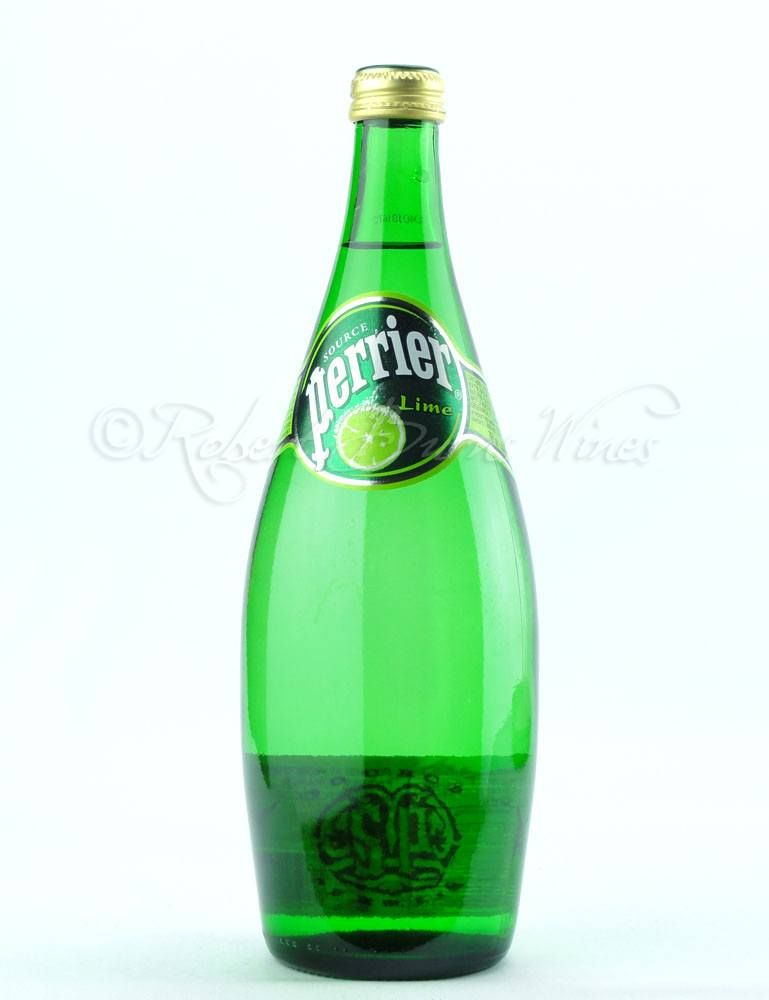 Perrier with lime....yum.
