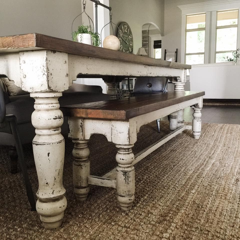 Decor Coffee Table Distressed Stockton Farm