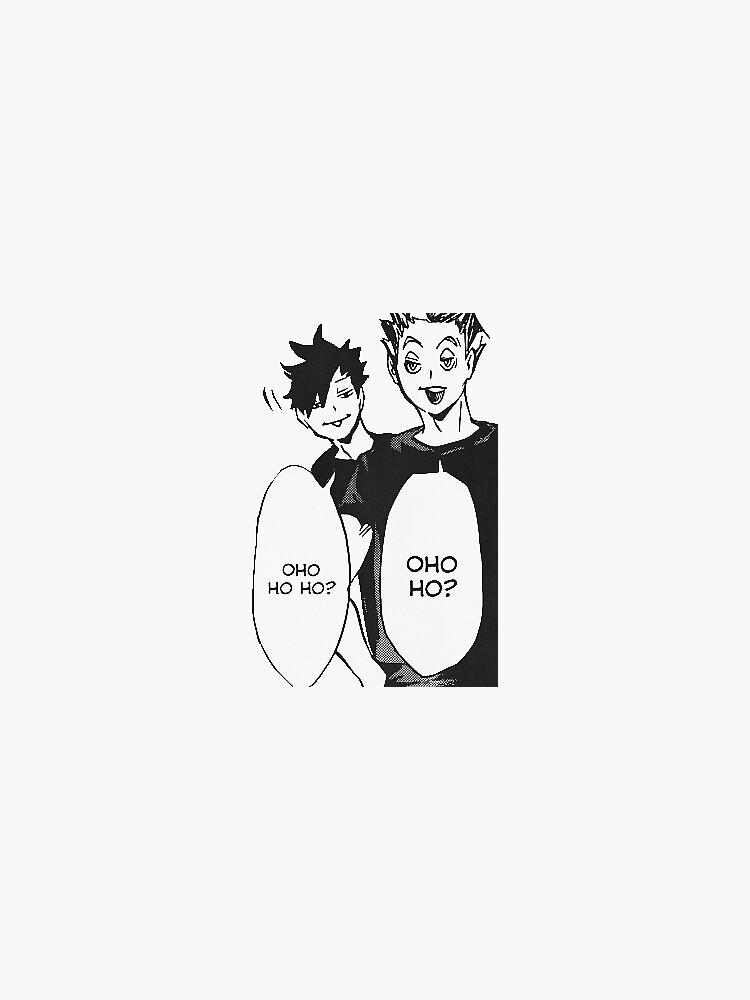 Haikyuu!! Kuroo & Bokuto Sticker