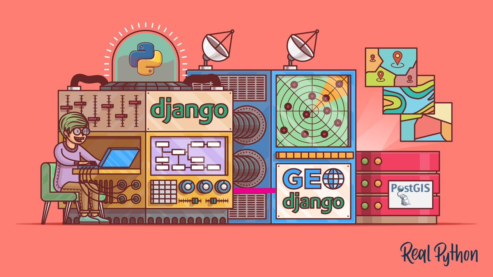 Make a LocationBased Web App With Django and GeoDjango