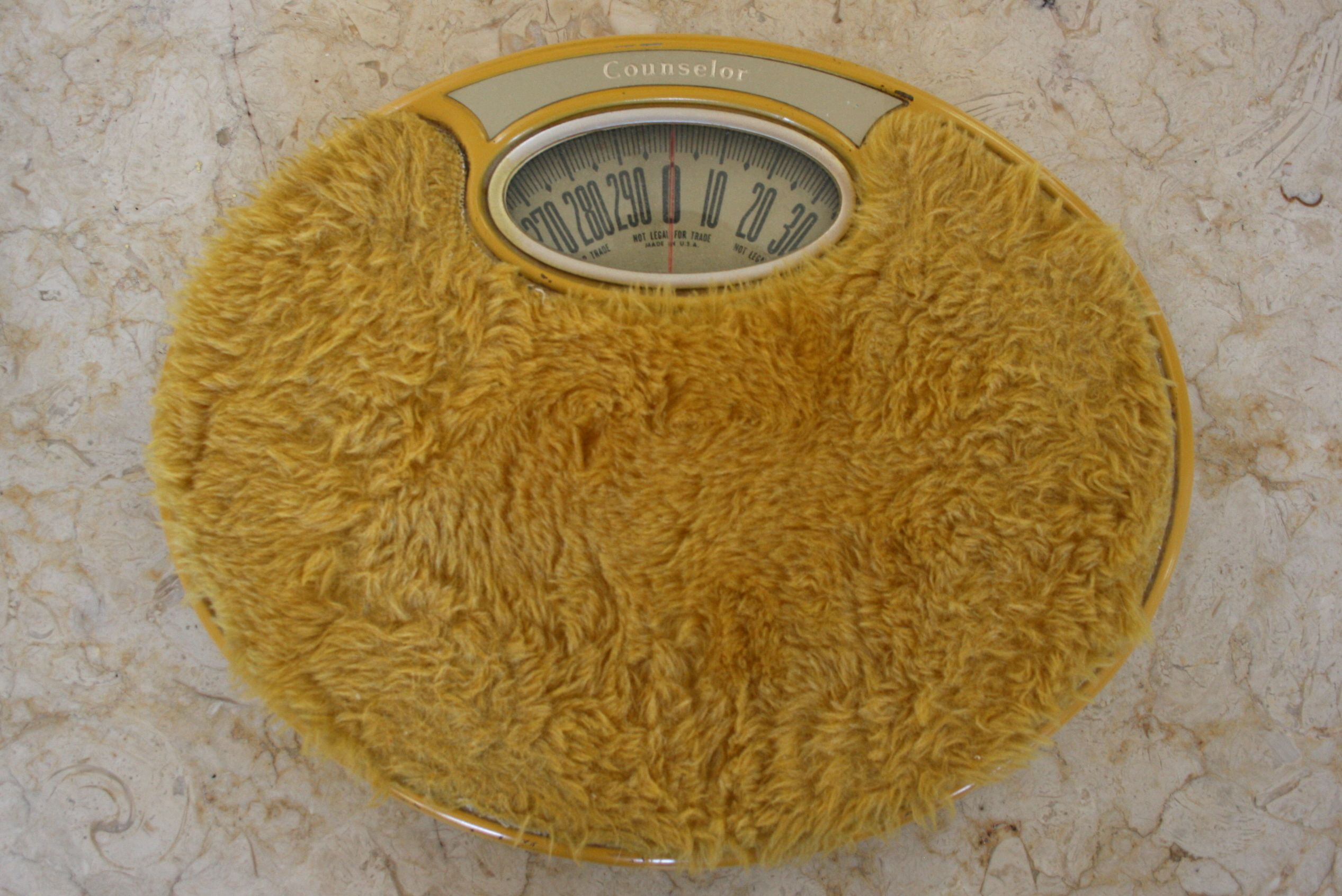 1970s Bathroom Scale Forgot About These And By The Looks Of It