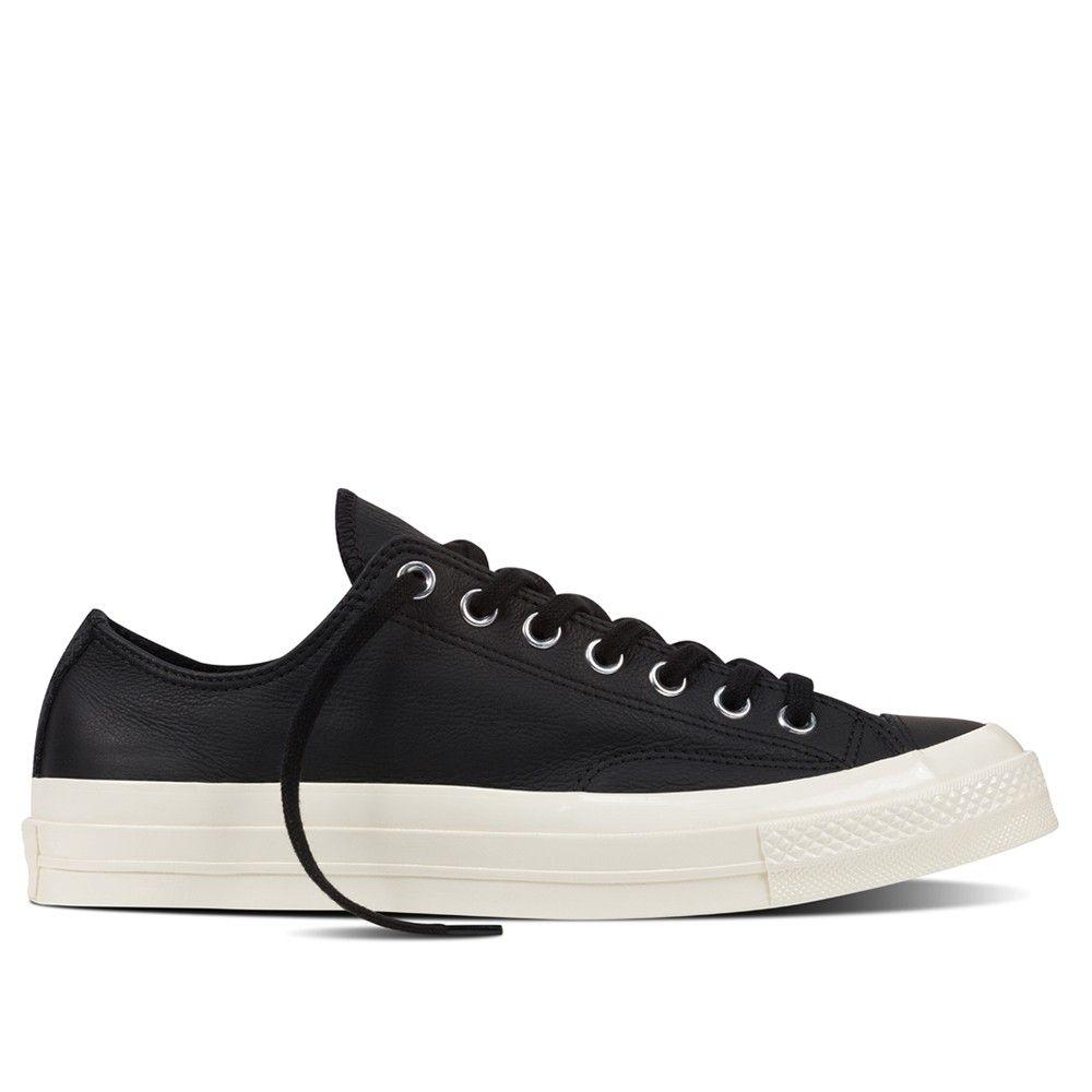 Converse CTAS 70 Ox Suede/Leather (Black)