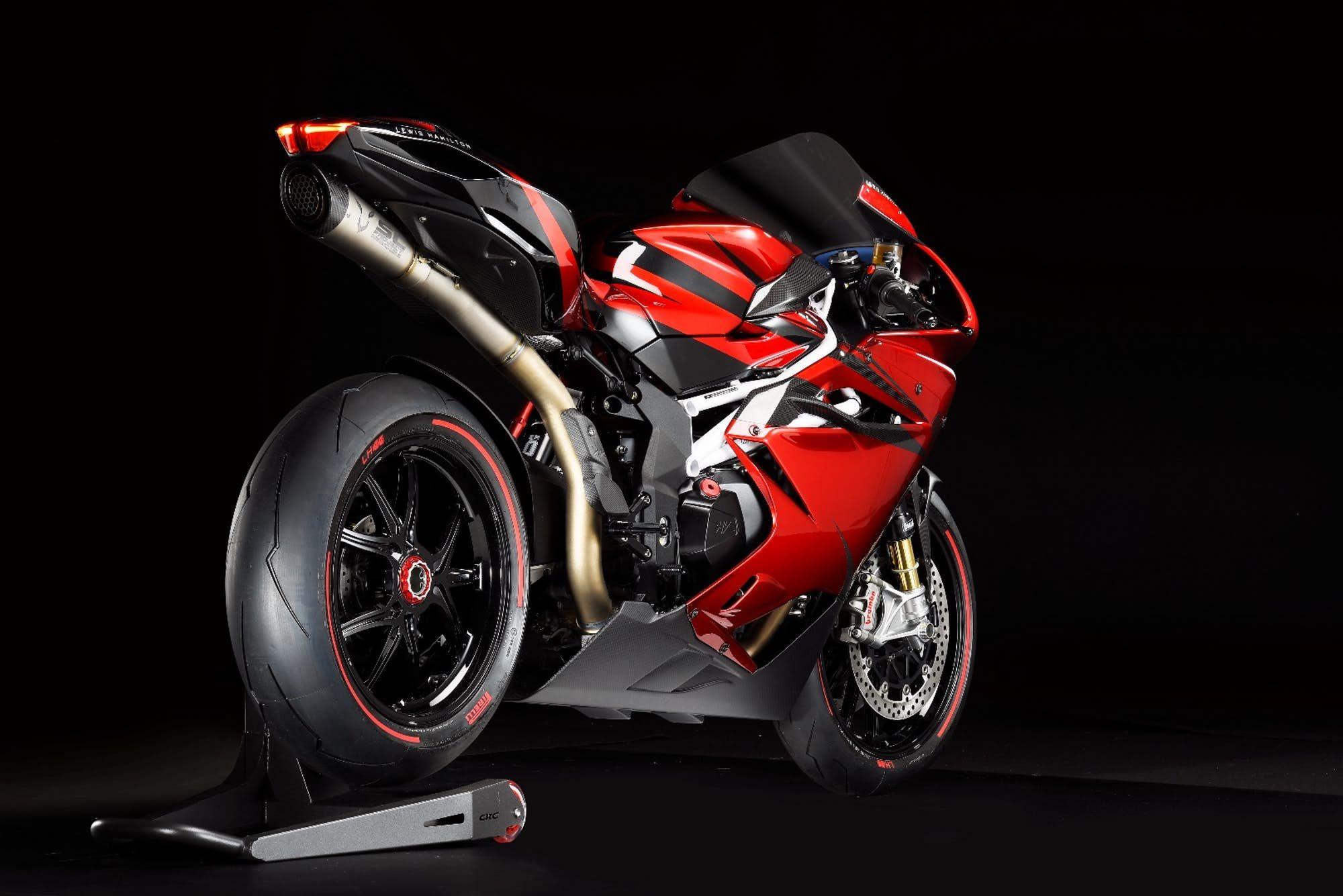 Lewis Hamilton And Mv Agusta Create Eclectic F4 Superbike Mv Agusta