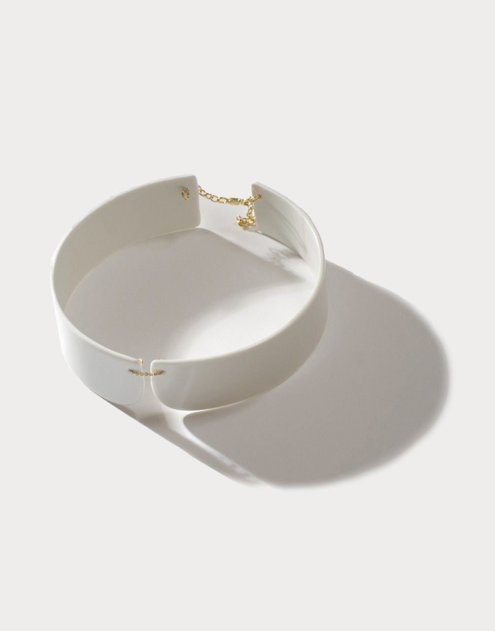 Porcelain collar from uncommon matters minimalist and modern design