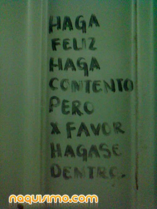 Frases Banos Publicos.21 Graffitis De Bano Publico Que Haran Que Sueltes Una