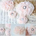 Ruffle Chiffon Flower {Homemade Gift}