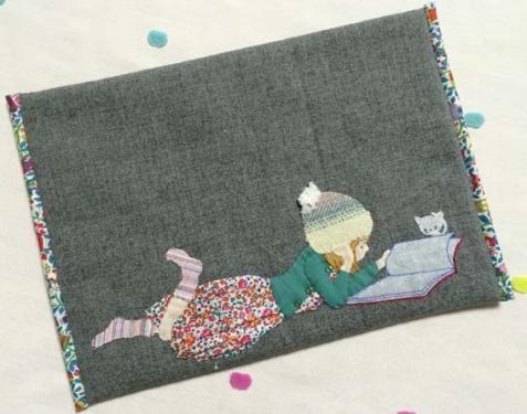 Silent Night wool Appliqu\u00e9 Pattern only