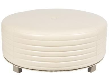 Shop for Vanguard Circular Ottoman, W180C-OT, and other Living Room Ottomans at Vanguard Furniture in Conover, NC. Also Available in Leather and Fabric/Leather.