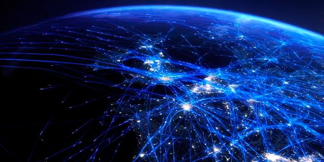 Watch An Entire Day Of Air Traffic In One Astonishing Visualization - Us air traffic map