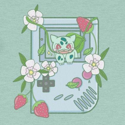 Starter Pokemon Gameboy Shirts made by CosmicBuns